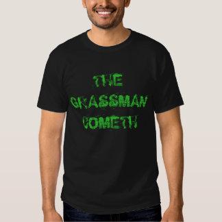 """The Grassman Cometh"" t-shirt"