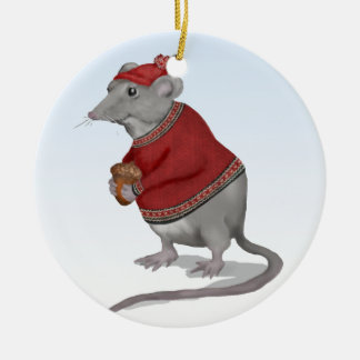 The Grateful Mouse Ornament
