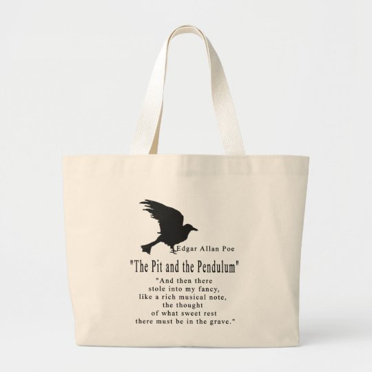 The Grave Large Tote Bag