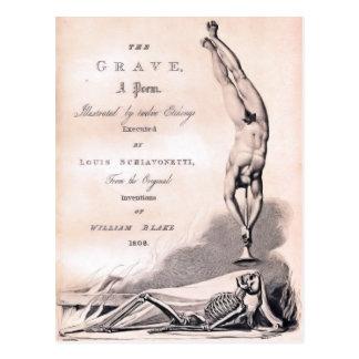 The Grave Postcard
