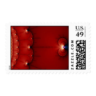 The Gravity Wells Fractal Postage