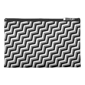 THE GRAY AREA (a zig zag design) ~ Travel Accessories Bags