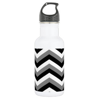 THE GRAY AREA (a zig zag design) ~ Water Bottle