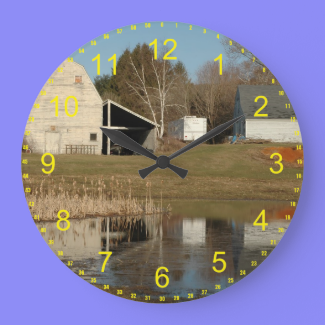 The Gray Barn Clock