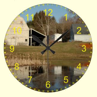 The Gray Barn Clock