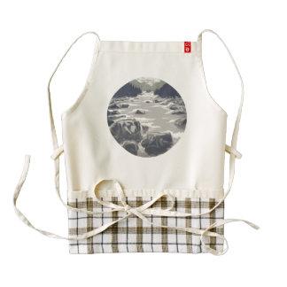 'The Gray Brook', apron, Zazzle Heart Zazzle HEART Apron