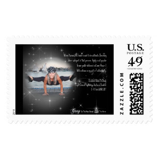 The Gray Hair Goddess Collection Postage Stamp