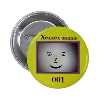 The Gray Person Pinback Button
