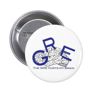 The GRE Hurts My Brain Button