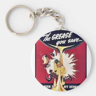 The Grease You Save Keychain