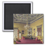 The Great Agate Hall in the Catherine Palace 2 Inch Square Magnet