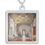 The Great Agate Hall in the Catherine Palace Square Pendant Necklace