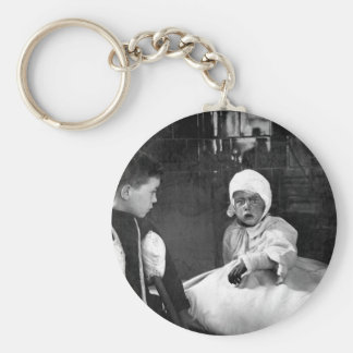 The Great Air Raid on London.  Some of_War Image Keychain