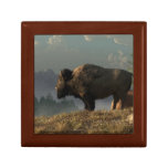 The Great American Bison Jewelry Box