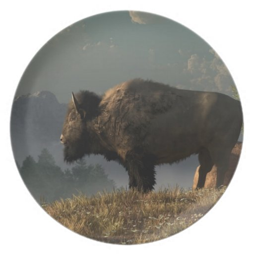 The Great American Bison Plates
