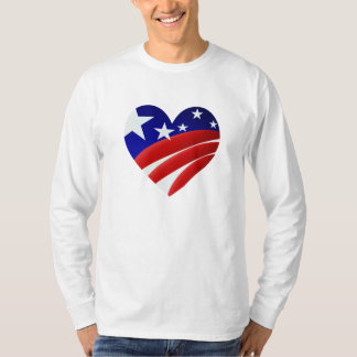 The Great American Heart  Shirt