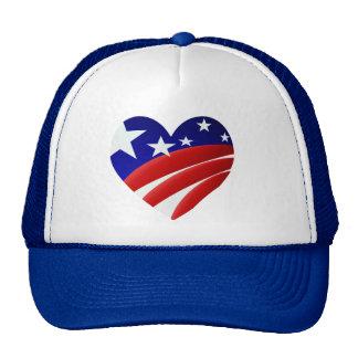 The Great American Heart  Shirt Trucker Hat