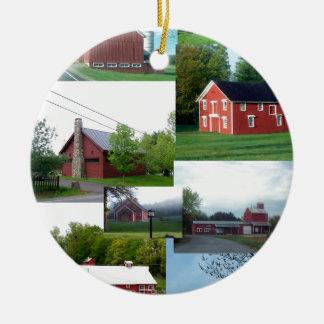 The Great American Red Barn.jpg Ornament