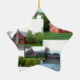 The Great American Red Barn.jpg Ornaments