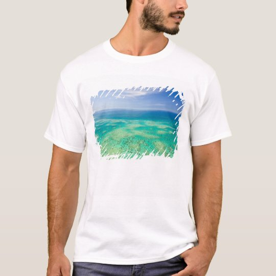 The Great Barrier Reef, aerial view of Green 2 T-Shirt