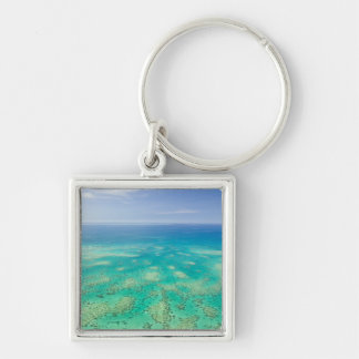 The Great Barrier Reef, aerial view of Green Keychain