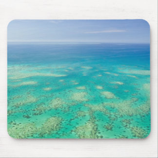 The Great Barrier Reef, aerial view of Green Mouse Pad