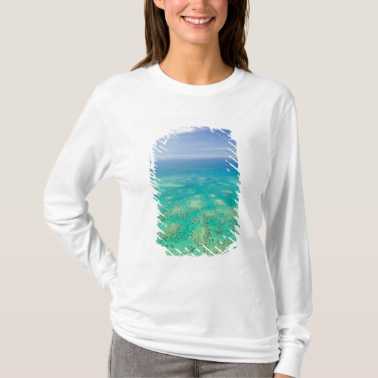 The Great Barrier Reef, aerial view of Green T-Shirt