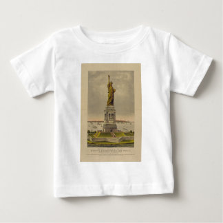 The Great Bartholdi Statue by Currier & Ives 1885 T Shirt