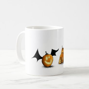 Halloween Themed The Great Bat Pumpkin Mug