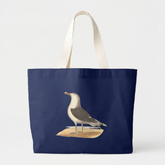 The Great Black-backed Gull(Larus marinus) Canvas Bags