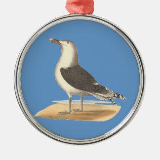 The Great Black-backed Gull(Larus marinus) Christmas Tree Ornaments