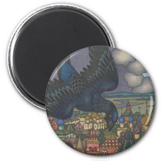 The Great Black Crow, from Maria Morevna Magnet