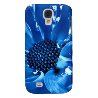 The great blue flower samsung s4 case