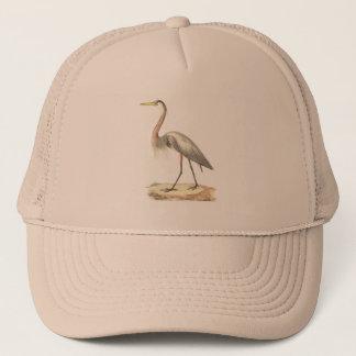 The Great Blue Heron  (Ardea herodias) Trucker Hat