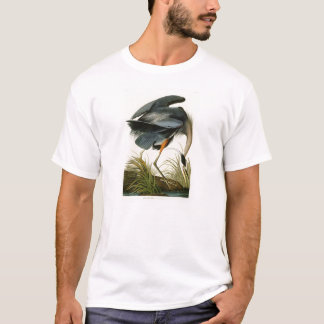 The Great Blue Heron John Audubon Birds of America T-Shirt