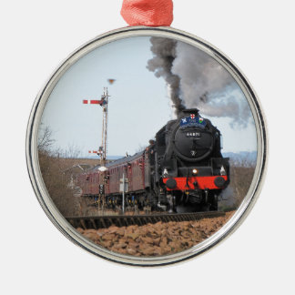 The Great Britain III steam train Metal Ornament