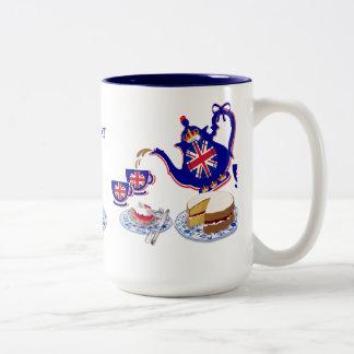 The Great British Cuppa #4 ~ Classic White Mug