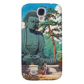 The Great Buddha at Kamakura Hasui Kawase hanga Galaxy S4 Cover