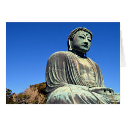 The Great Buddha: Kamakura, Japan Card