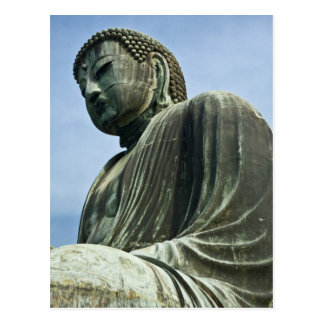 The Great Buddha of Kamakura also known as Postcard
