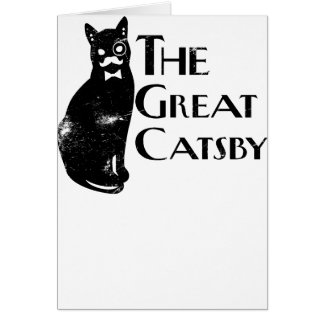 The Great Catsby Card
