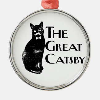 The Great Catsby Metal Ornament