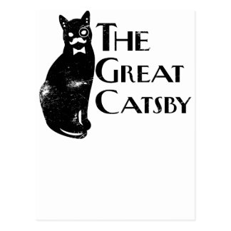 The Great Catsby Post Card