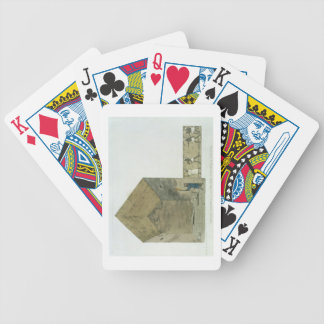 The Great Chamber in the second pyramid of Ghizeh, Bicycle Playing Cards