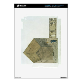 The Great Chamber in the second pyramid of Ghizeh, iPad 3 Decal