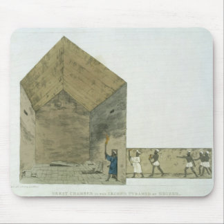 The Great Chamber in the second pyramid of Ghizeh Mousepad