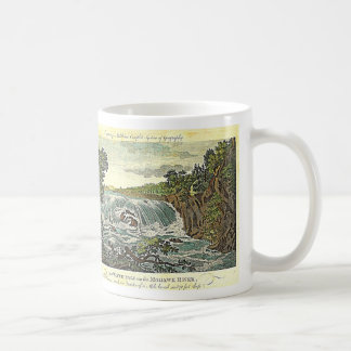 THE GREAT COHOES FALLS CLASSIC WHITE COFFEE MUG