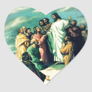The Great Commission Heart Sticker