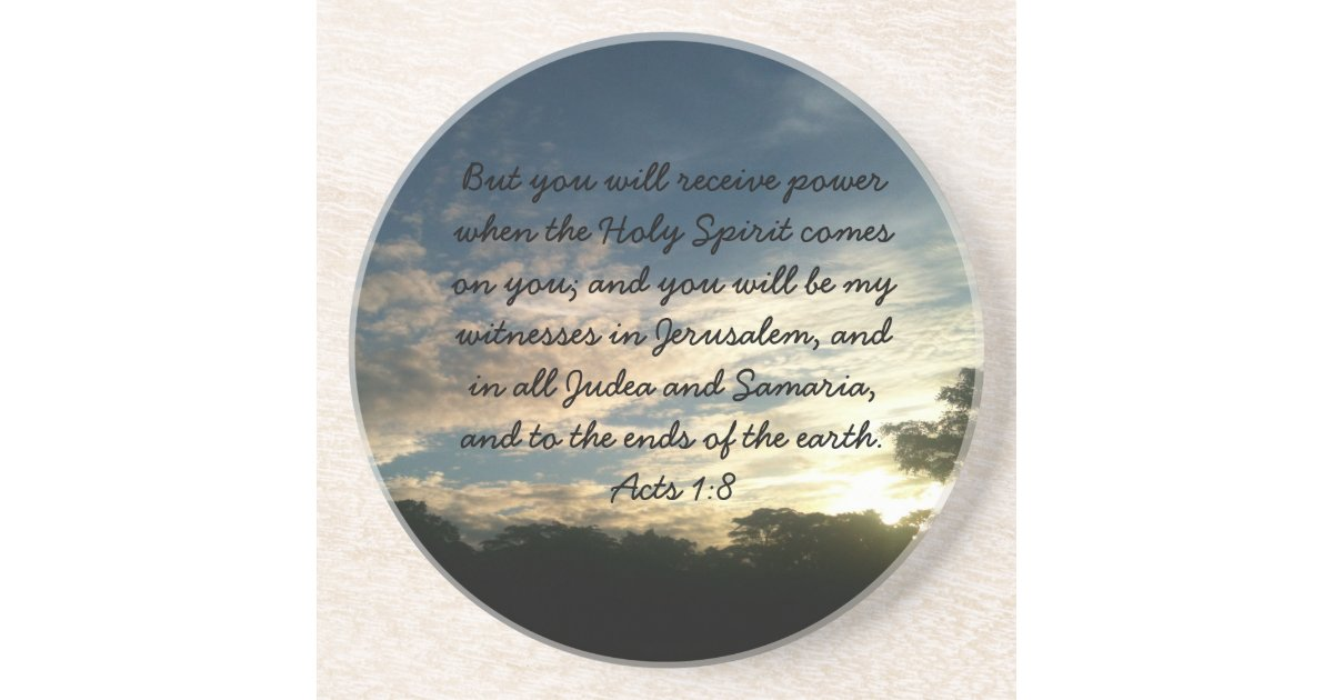 The great commission sandstone drink coaster zazzle - Sandstone drink coasters ...