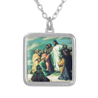 The Great Commission Silver Plated Necklace